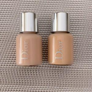 Dior primer and foundation minis